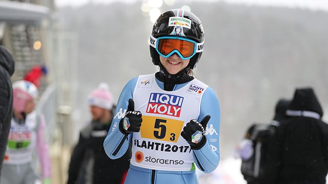 Manuela Malsiner – 2017 Junior World Ski Jump Champion
