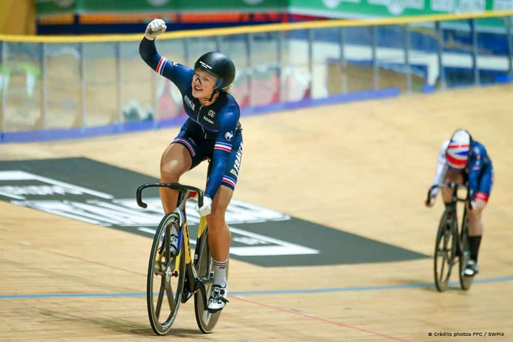 Mathilde Gros – 3x Track Cycling Junior World Champion