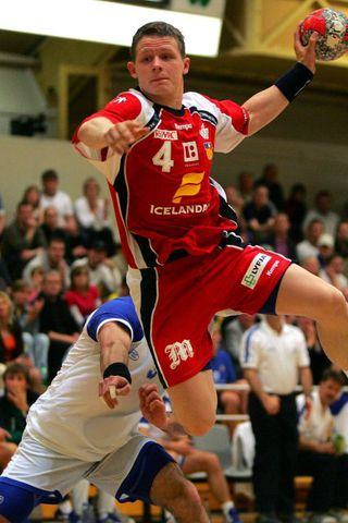 Einar Orn Jonsson – Handball Player from Iceland