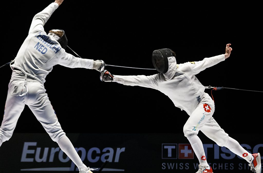 Bas Verwijlen – 3 Time Olympic Fencer from The Netherlands